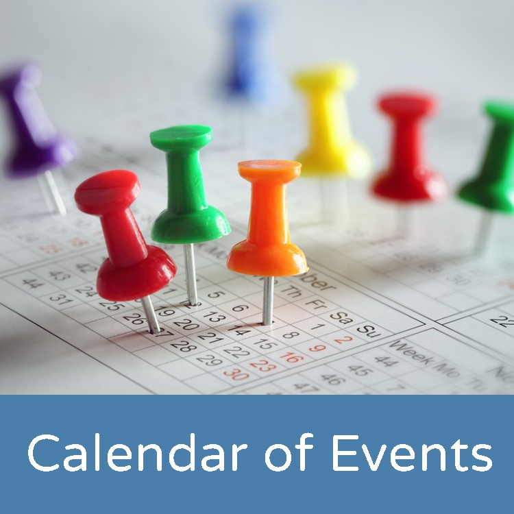 calendar of case management events