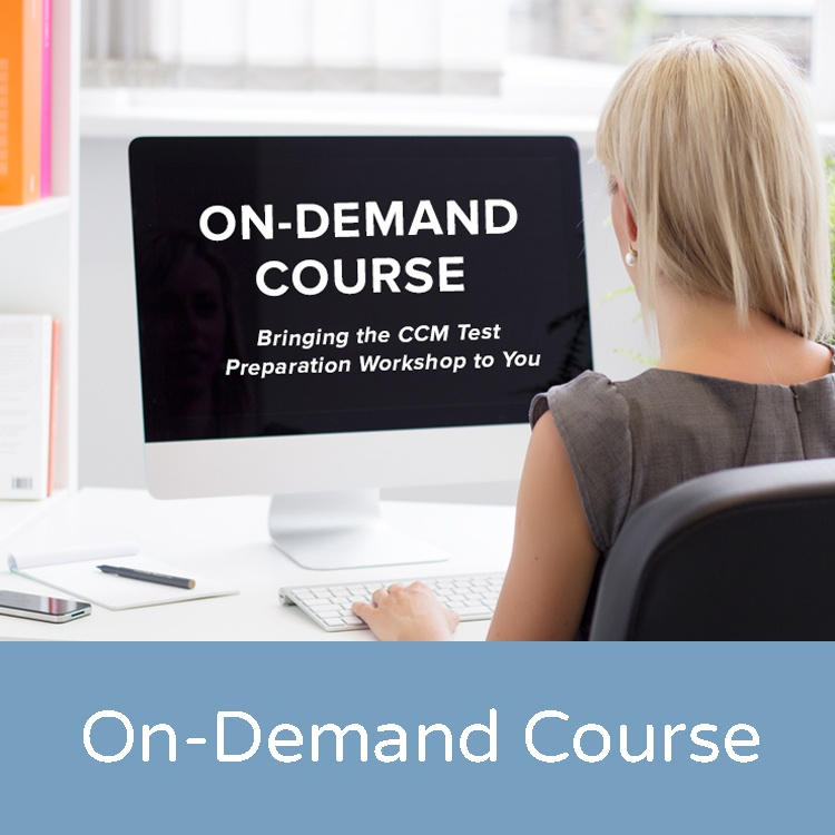 on demand ccm prep course