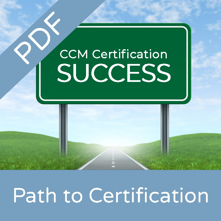 path to ccm certification